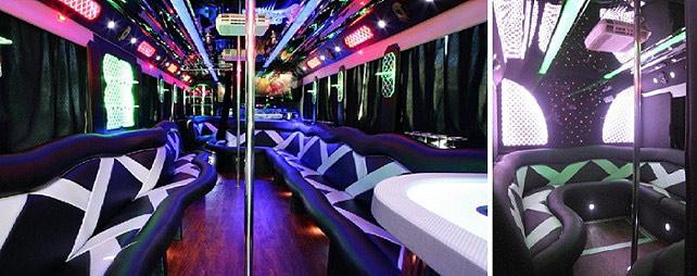 Celebrity Party Bus