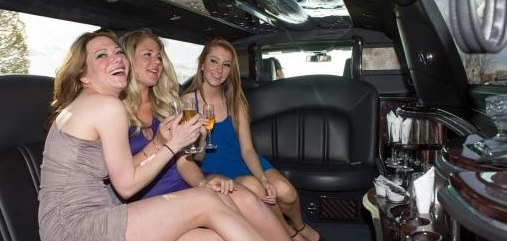 Girls in Le Limo