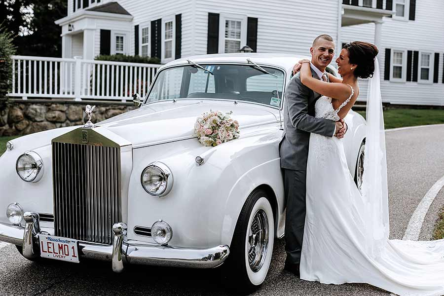 Le Limo Rolls Royce Wedding Picture