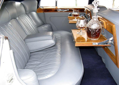 Inside the Rolls Royce