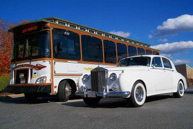 Trolley and Rolls Royce